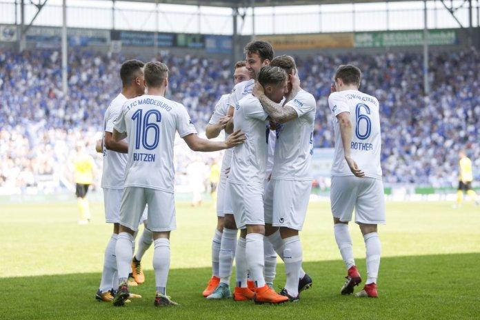 35. Spieltag 17/18: 1. FC Magdeburg - Fortuna Köln - Bild