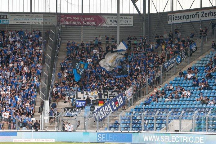3. Spieltag 19/20: 1. FC Magdeburg - Waldhof Mannheim - Bild