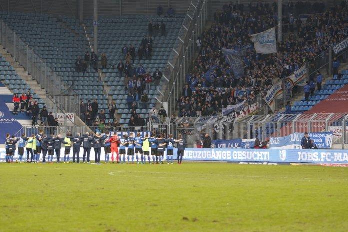 22. Spieltag 17/18: 1. FC Magdeburg - SV Meppen
