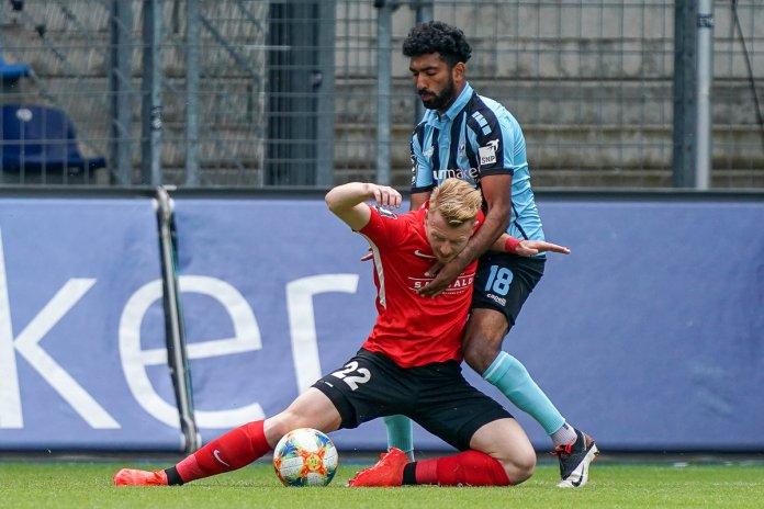 34. Spieltag 19/20: 1. FC Magdeburg - FC Bayern München II - Bild