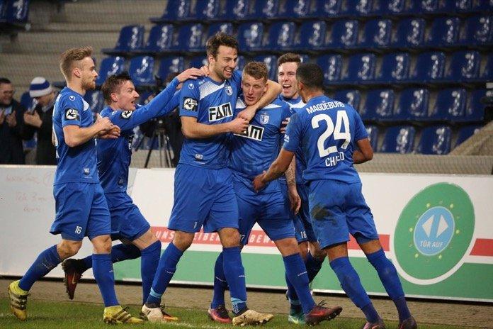 28. Spieltag; 1. FC Magdeburg – SV Wehen Wiesbaden