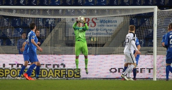 26. Spieltag 16/17: 1. FC Magdeburg - Preußen Münster