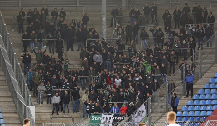 24. Spieltag 17/18: 1. FC Magdeburg - Preußen Münster - Bild