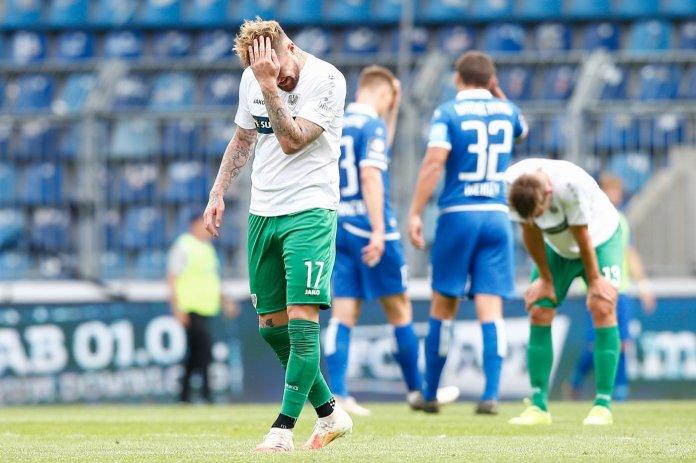 38. Spieltag 19/20: 1. FC Magdeburg - Preußen Münster - Bild