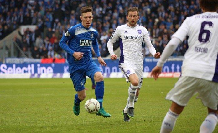12. Spieltag; VfL Osnabrück – 1. FC Magdeburg