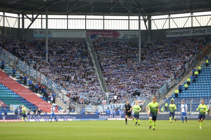 7. Spieltag 17/18: 1. FC Magdeburg - Hansa Rostock - Bild
