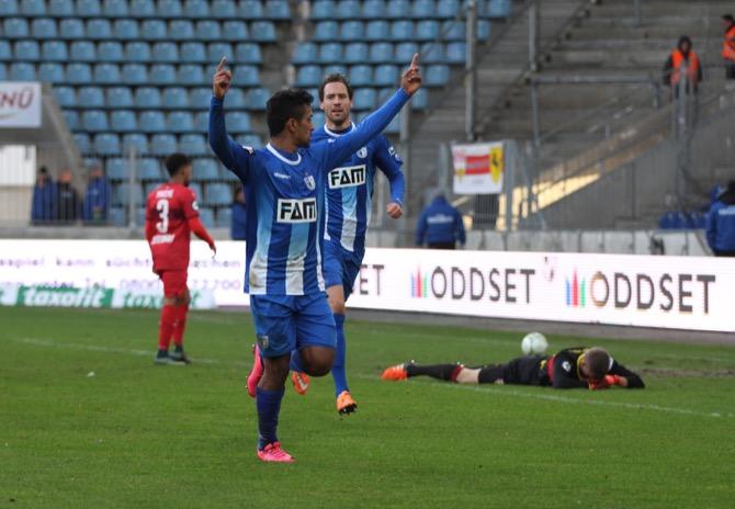 Magdeburg und Stuttgart II trennen sich 2:2 unentschieden - Spielbericht + Bilder