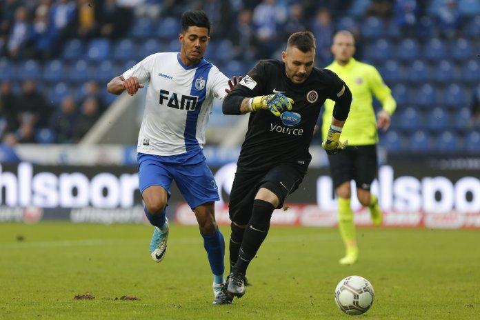 15. Spieltag 17/18: 1. FC Magdeburg - SV Wehen Wiesbaden