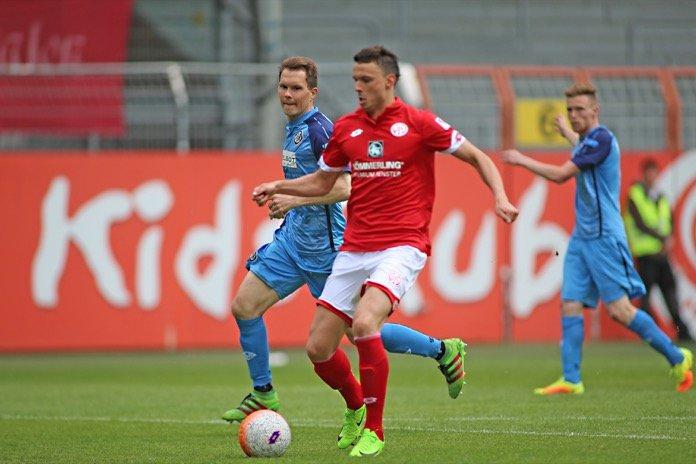 36. Spieltag 16/17: 1. FSV Mainz 05 II - VfR Aalen