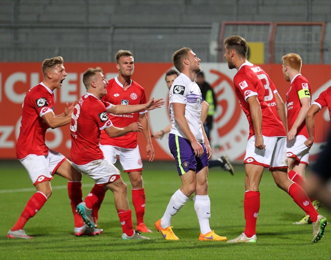 11. Spieltag; 1. FSV Mainz 05 II - Hallescher FC