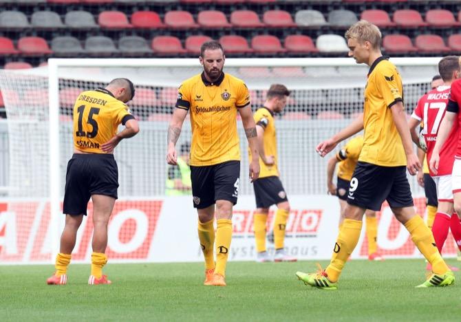 9. Spieltag; Dynamo Dresden - VfL Osnabrück