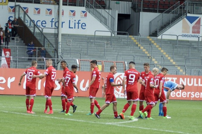 38. Spieltag 16/17: 1. FSV Mainz 05 II - Fortuna Köln