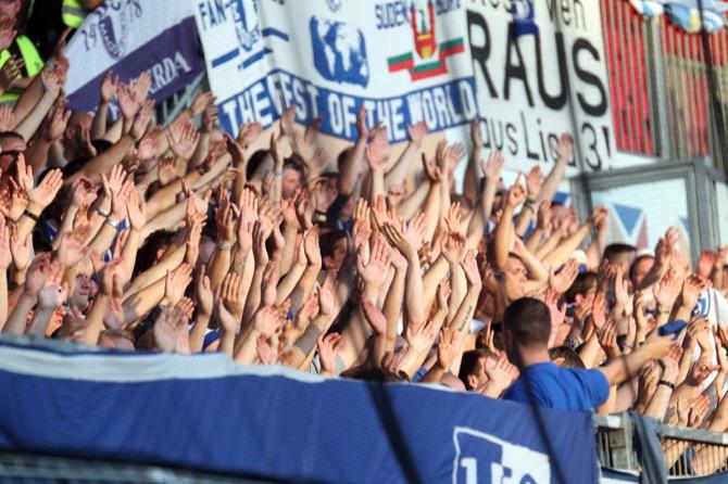 3. Spieltag; 1. FC Magdeburg - Hallescher FC