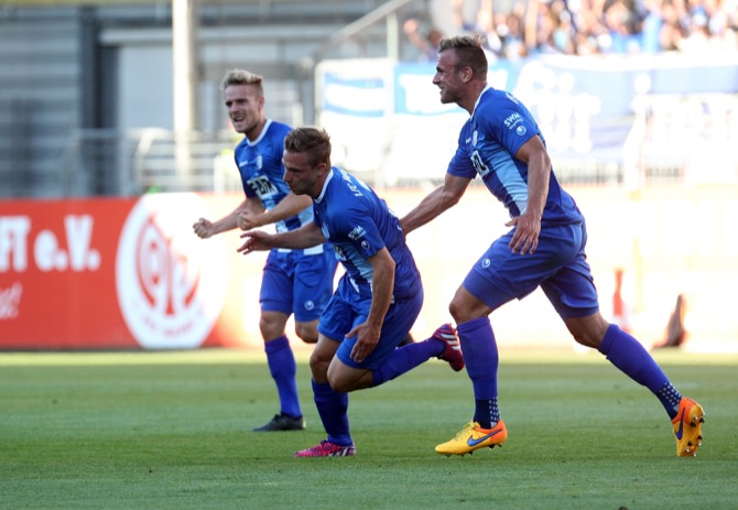 6. Spieltag; Fortuna Köln - 1. FC Magdeburg