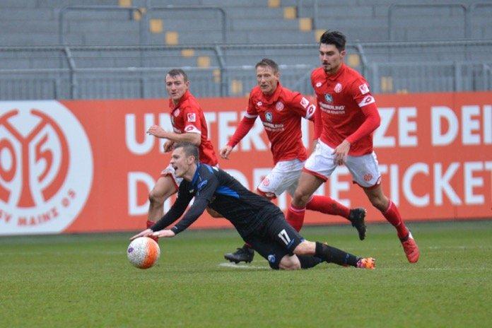 21. Spieltag 16/17: 1. FSV Mainz 05 II - SC Paderborn 07