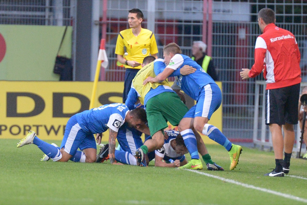 18. Spieltag; FC Energie Cottbus - FC Hansa Rostock