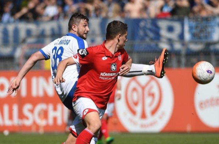 32. Spieltag 16/17: 1. FSV Mainz 05 II - Hansa Rostock