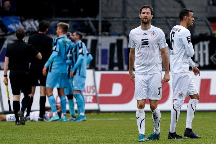 18. Spieltag 19/20: SV Waldhof Mannheim - Eintracht Braunschweig