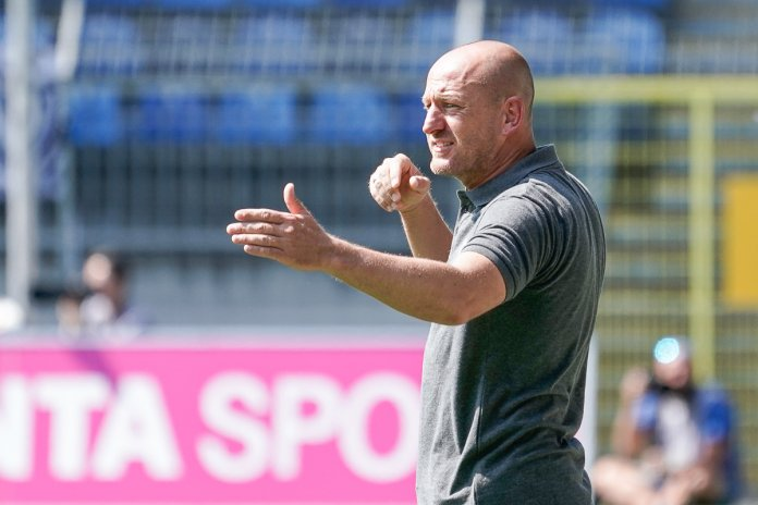 6. Spieltag 19/20: SV Waldhof Mannheim - MSV Duisburg - Bild