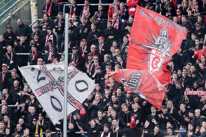 12. Spieltag 19/20: SV Waldhof Mannheim - Hallescher FC