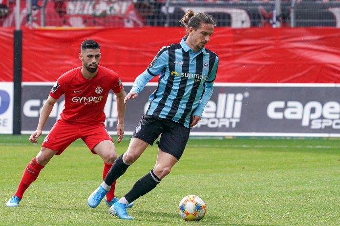 26. Spieltag 19/20: SV Waldhof Mannheim - 1. FC Kaiserslautern - Bild
