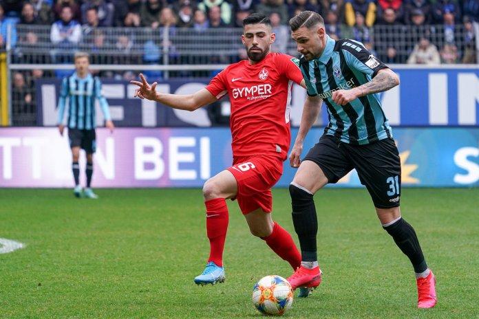 26. Spieltag 19/20: SV Waldhof Mannheim - 1. FC Kaiserslautern