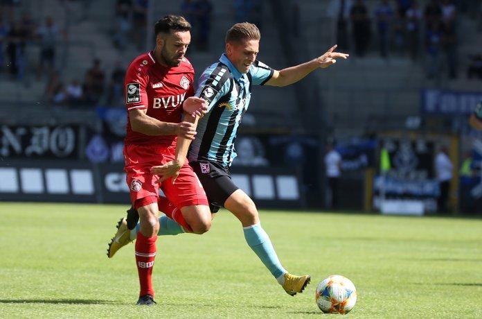 8. Spieltag 19/20: SV Waldhof Mannheim - Würzburger Kickers