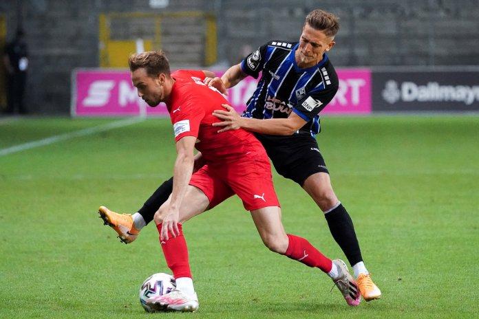 1. Spieltag 20/21: SV Waldhof Mannheim - Viktoria Köln