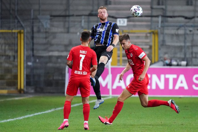 1. Spieltag 20/21: SV Waldhof Mannheim - Viktoria Köln - Bild