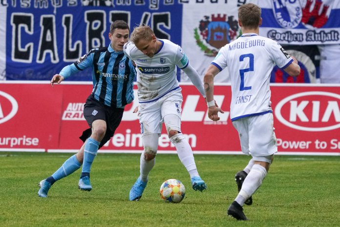 22. Spieltag 19/20: SV Waldhof Mannheim - 1. FC Magdeburg