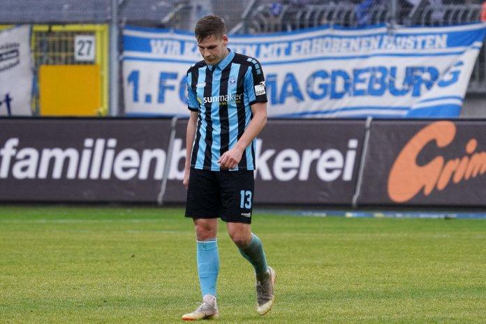 22. Spieltag 19/20: SV Waldhof Mannheim - 1. FC Magdeburg - Bild