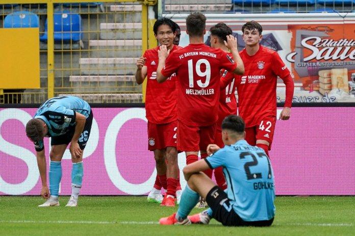 32. Spieltag 19/20: SV Waldhof Mannheim - FC Bayern München II