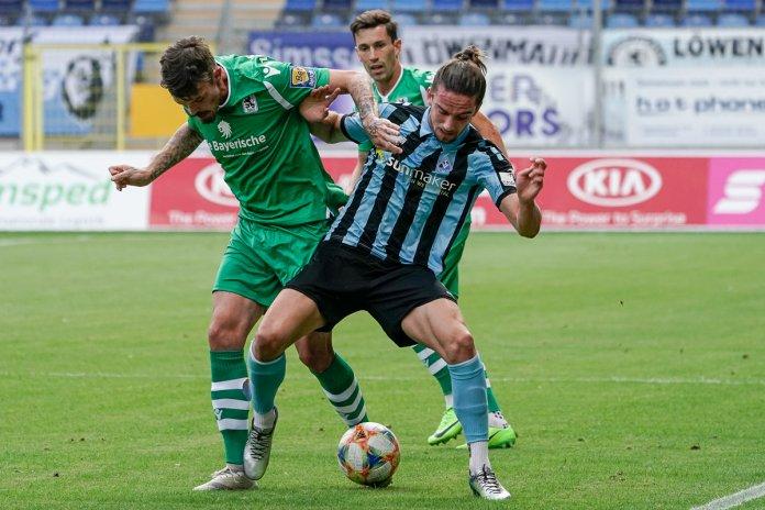 4. Spieltag 19/20: Waldhof Mannheim - TSV 1860 München - Bild