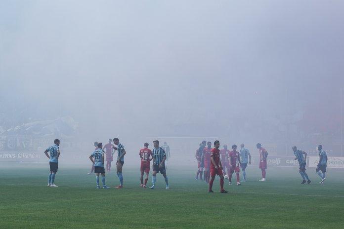 10. Spieltag 19/20: SV Waldhof Mannheim - Hansa Rostock