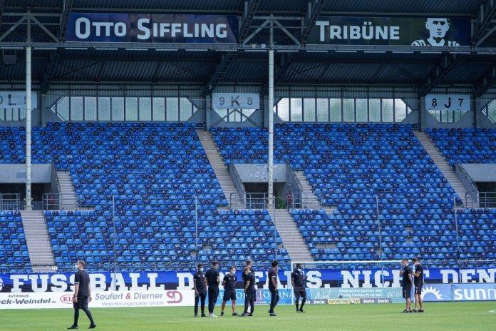29. Spieltag 19/20: SV Waldhof Mannheim - KFC Uerdingen 05 - Bild