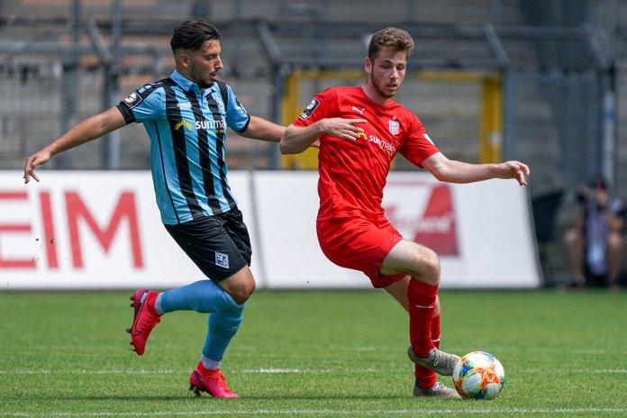 38. Spieltag 19/20: SV Waldhof Mannheim - FSV Zwickau