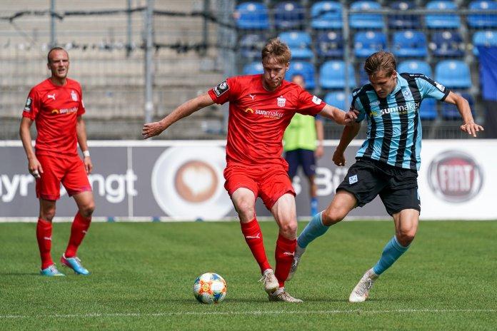 38. Spieltag 19/20: SV Waldhof Mannheim - FSV Zwickau - Bild
