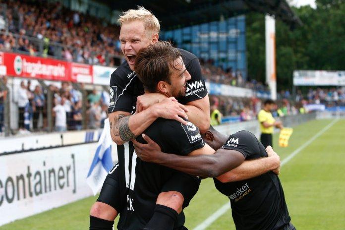 4. Spieltag 19/20: SV Meppen - 1. FC Magdeburg - Bild