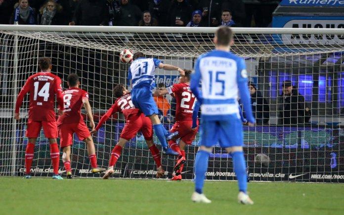 28. Spieltag 18/19: SV Meppen - Würzburger Kickers - Bild
