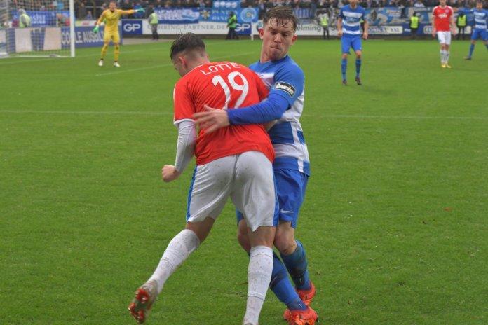 20. Spieltag 18/19: SV Meppen - Sportfreunde Lotte - Bild
