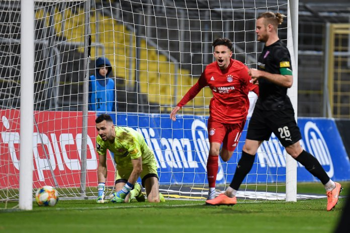 24. Spieltag 19/20: FC Bayern München II - Hallescher FC