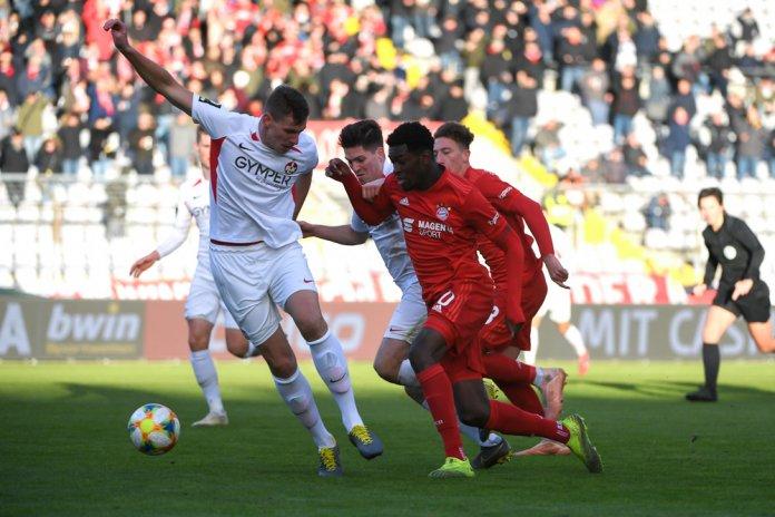 19. Spieltag 19/20: FC Bayern München II - 1. FC Kaiserslautern - Bild
