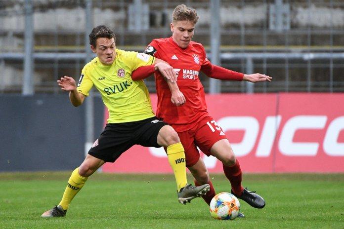 20. Spieltag 19/20: FC Bayern München II - Würzburger Kickers - Bild