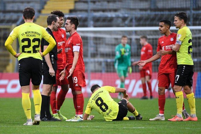 20. Spieltag 19/20: FC Bayern München II - Würzburger Kickers
