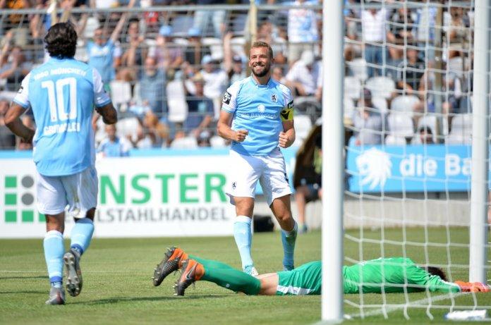 2. Spieltag 18/19: TSV 1860 München - Sportfreunde Lotte - Bild