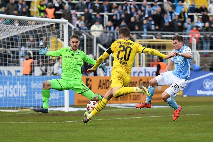 22. Spieltag 18/19: TSV 1860 München - VfL Osnabrück - Bild