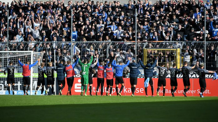 26. Spieltag 18/19: TSV 1860 München - Hansa Rostock