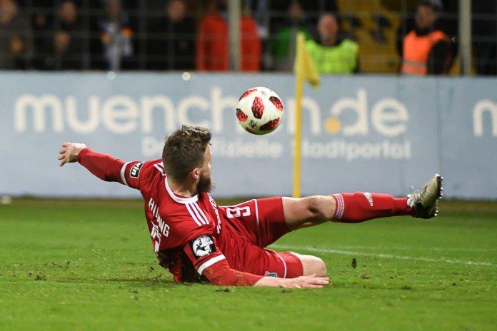 28. Spieltag 18/19: TSV 1860 München - SpVgg Unterhaching - Bild