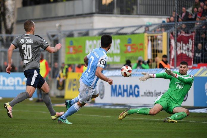 17. Spieltag 18/19: TSV 1860 München - FSV Zwickau - Bild