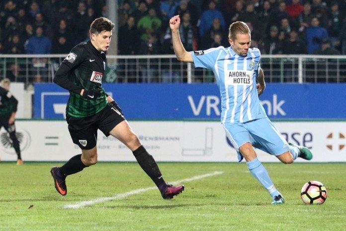 17. Spieltag 16/17: Preußen Münster - Chemnitzer FC